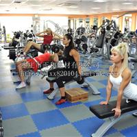 供应新型健身房地板,健身房专用锁扣地板