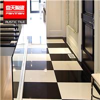 佛山瓷砖 厂家直销黑白系列抛光地板砖