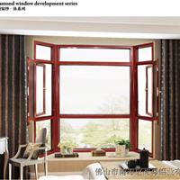 80平开窗 铝合金平开窗 断桥铝平开窗