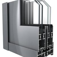 佳华铝材供应DTM90隔热节能推拉窗