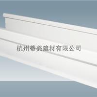 供应威县PVC成品天沟 成品雨水槽
