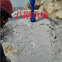 供应石灰岩石无爆破开采全液压劈石器