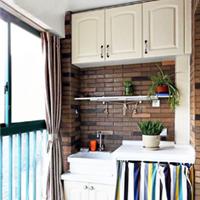 供应整体家具  阳台柜 洗衣机柜 装饰柜等