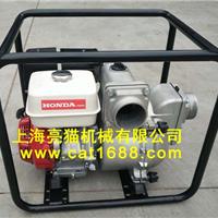供应上海亮猫4寸本田GX390汽油动力泥浆泵