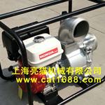供应上海亮猫6寸电启动本田GX390汽油污水泵