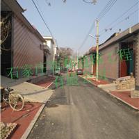 邢台透水地坪街道施工建设美丽乡村容和地坪