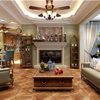群力观江国际-美式风格概念设计-麻雀装饰
