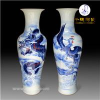 深度解读景德镇落地大花瓶的独特工艺