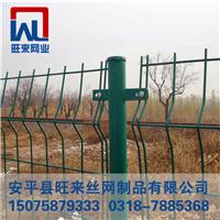 场地围栏 优质绿色防落网 电焊铁丝网