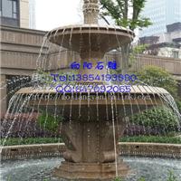 无锡喷泉石雕市场|黄锈石喷泉批发价格