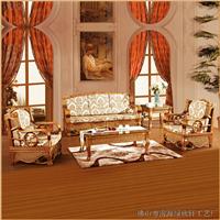 绿欣轩 藤沙发五件套  休闲沙发组合9025