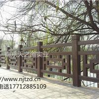 河道仿木栏杆  桥梁仿石栏杆选天之道栏杆