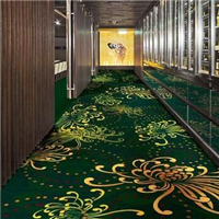 广州酒店提花满铺工程地毯