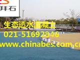 上海世博园广场艺术生态透水地坪
