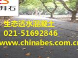 浙江大学西溪校区透水混凝土路面