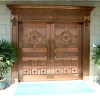 供应西安铜门定做西安仿古铜门厂家