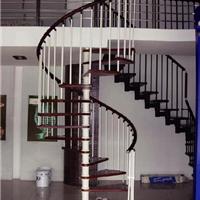 厂家直销实木楼梯钢木楼梯旋转楼梯玻璃护栏