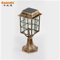 供应欧式柱头灯 围墙柱头灯 卡米达柱头灯