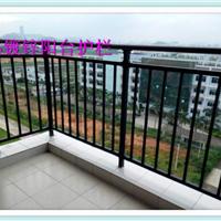 超长使用寿命 楼梯锌钢护栏 铁艺小区阳台栏杆 锌钢阳台护栏定做