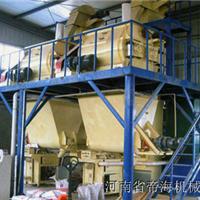 帝海机械半自动干粉砂浆生产线