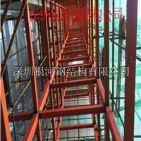 【电梯钢结构井道工程】银河工程案例 图片 报价 深圳