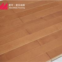 供应运动木地板枫木纯实木地板 体育木地板