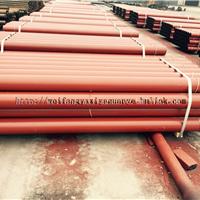 供应B型法兰式柔性连接铸铁排水管规格齐全