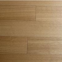 水曲柳多层实木复合地板 直纹浅色室内防潮