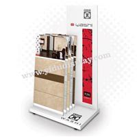 供应L型简单便携式瓷砖展架T503