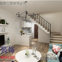 鸣雀装饰-博雅公寓现代风格装修高清效果图