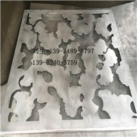 电镀铝单板缕空隔墙
