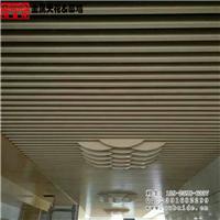 4D木纹造型铝方管吊顶天花