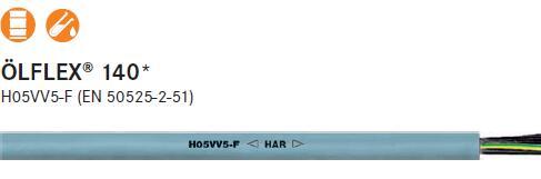 供应LAPP OLFLEX-140柔性电缆