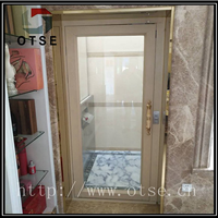 OTSE 广东3层住宅楼室外加装小型螺杆电梯