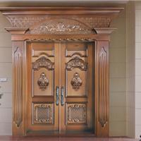 铜门价格,旋转铜门品种齐全