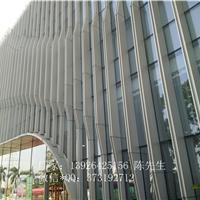 供应弧形铝方通 外墙装饰室内隔断装饰材料