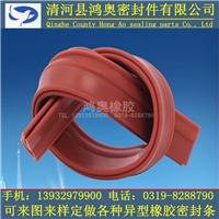 硅橡胶高温密封条
