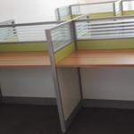 屏风卡位办公桌,职员卡位屏风桌,南昌办公桌