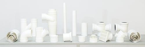 供应PVC-U环保雨、排水管及管件