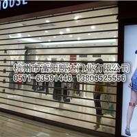 【杭州- 富阳凯达】厂家直销 长条水晶门