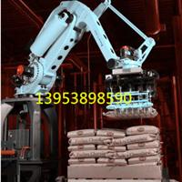 非标码垛系统定制 码垛机器人 饲料肥料搬运