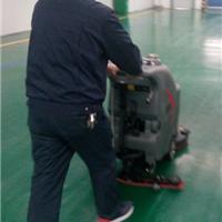 内乡方城工厂物业保洁使用洗地机代替人工