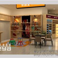 供应南京食品展柜零食货架生产厂家大唐格雅