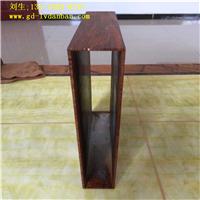 木纹色铝方管型材|型材铝方通价格