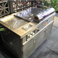 曲靖燃气铁板烧,电热铁板烧设备生产制造商