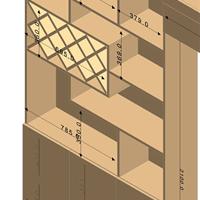 南宁柜定制黑眼圈回形状设计出装饰家具工厂