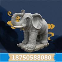惠安石雕大象供应厂家 招财进宝