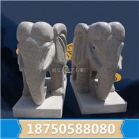 石材雕刻厂家加工 大象鼻子的用途多