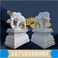 大象石雕象 风水神兽 大象雕塑工艺品