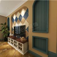 来自天古装饰万科悦湾地中海风格设计效果图
